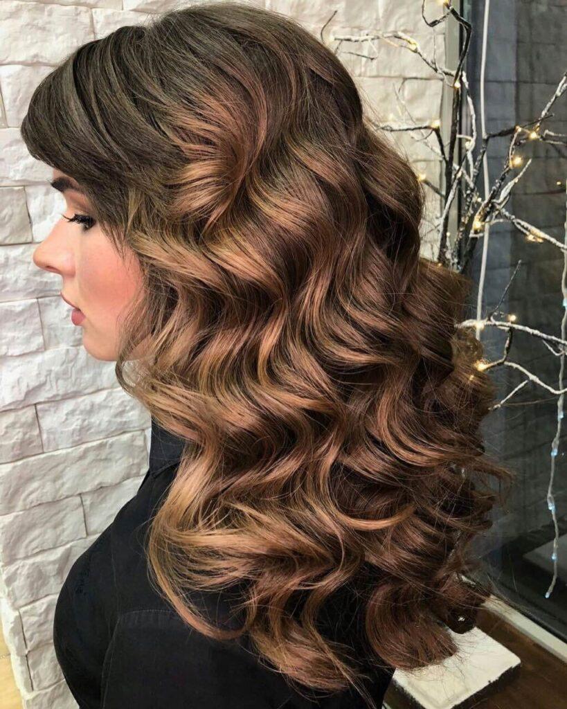 Цвет волос Blushed Chocolate фото