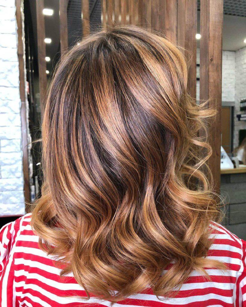 Цвет волос Ginger Brunette фото