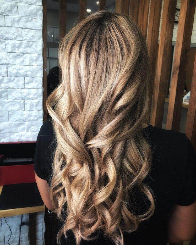 Цвет волос медовый блонд фото