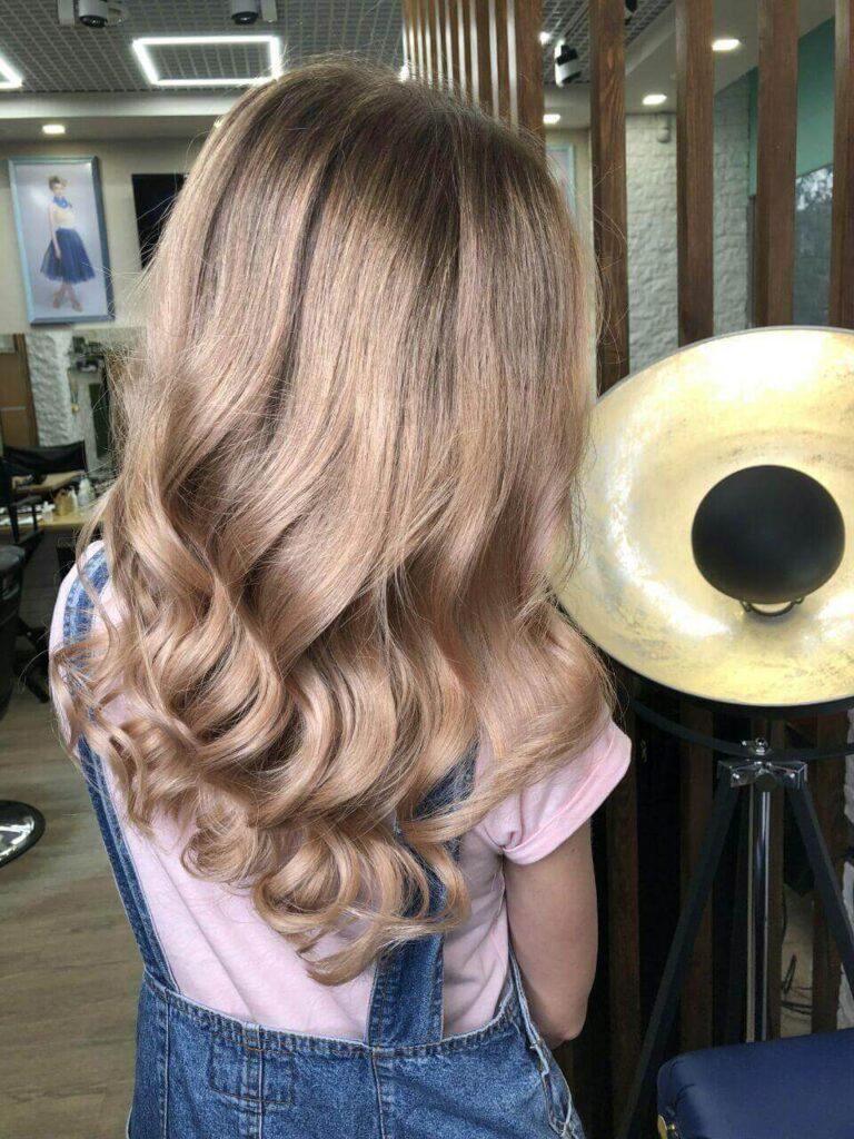 Цвет волос песочный блонд фото