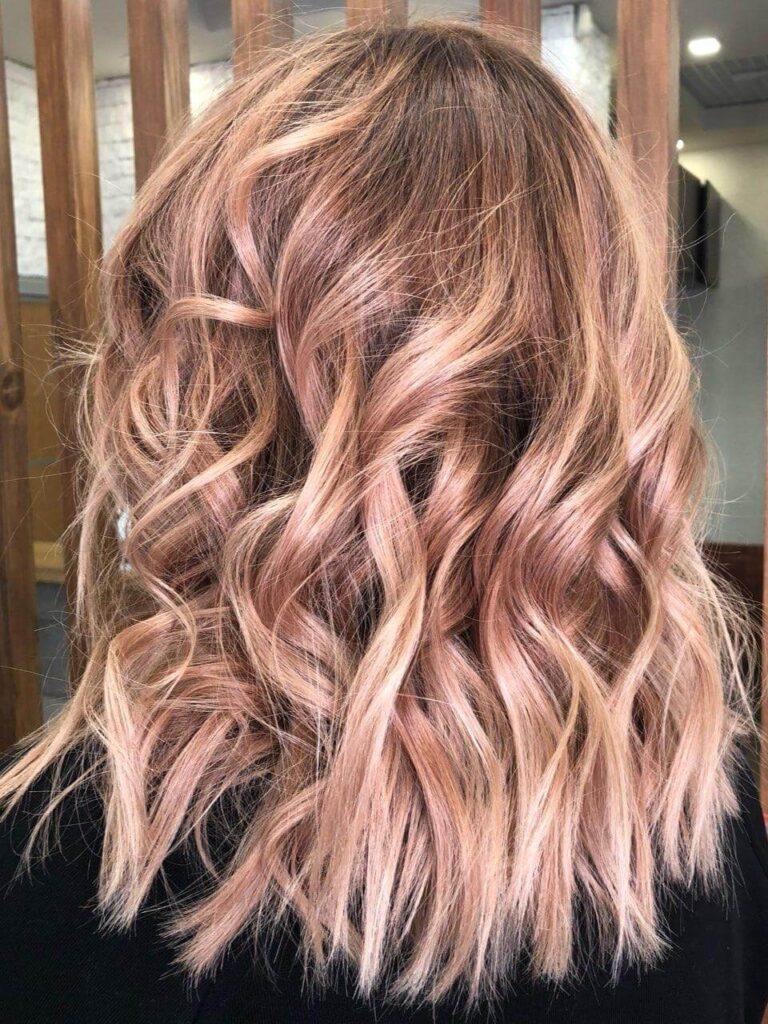 Карамельный цвет волос фото